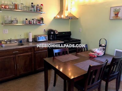 Mission Hill 4 bed 1 bath-Heat and Hot Water Included! Boston - $4,000